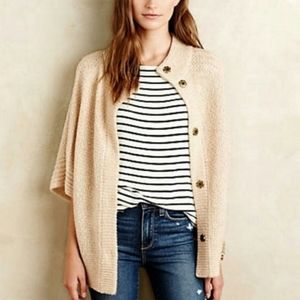 Angel Of The North Mixed Stitch Shrug Cardigan S
